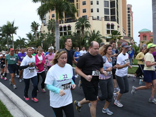 Last year's Tour De Cape 5K attracted runners from 18 states, Germany, Canada and Switzerland.