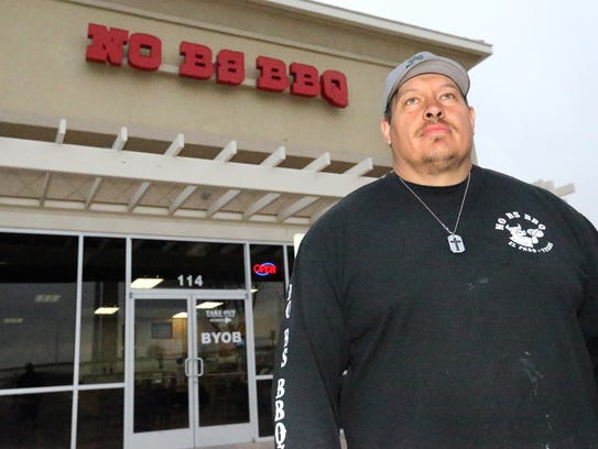 Brehan Goodwin is one of  the owners of No BS BBQ at