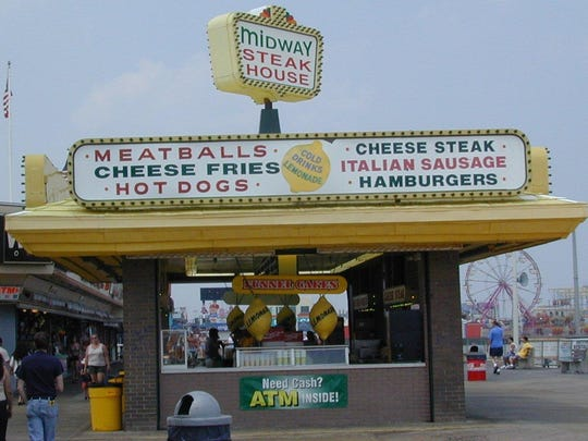 Midway Steak House is an institution on the Seaside Heights boardwalk.