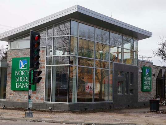 New North Shore Bank branch
