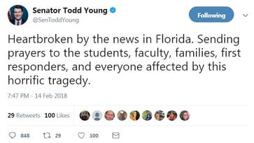 Bangert: Indiana's Sen. Young, a top NRA friend, grilled for his school shooting 'prayers'