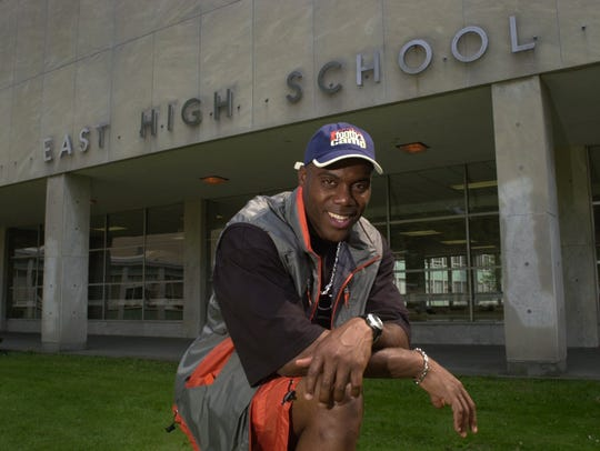 Roland Williams, a 1993 East High graduate, has served as a mentor to Seven McGee.