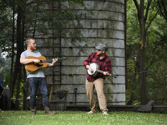 "Jack Dwyer and Lane Trisko are releasing their first CD called ""Sometimes Myrtle Calls."" The party is at Dancing the Land Farm."