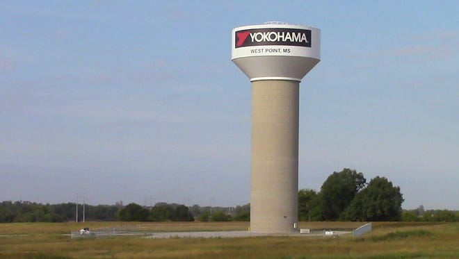 The Yokohama Tire facility in West Point is nearing completion.
