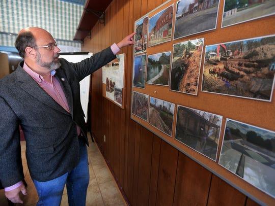 Stanton Mayor Allan Sterbinsky talks about some of