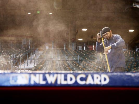 MLB: NL Wildcard Practice