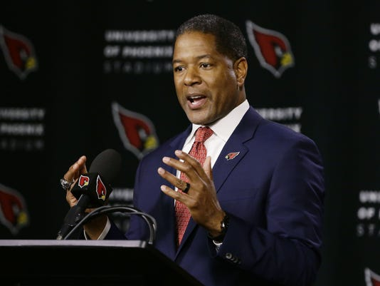 Steve Wilks, new head coach of the Arizona Cardinals