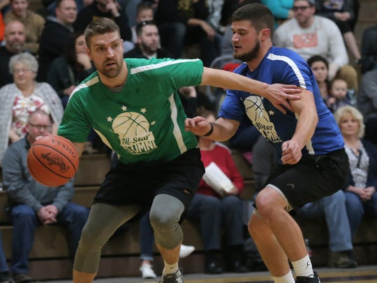 Brook Turson, who scored over 2,000 points in his Plymouth career, was just promoted as lead assistant in the Ashland University men's basketball program.