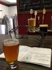 Aether IPA, Copper King Rye Pale Ale, Columbia Gardens