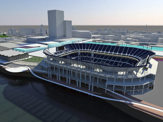 Rams Stadium Football (2)