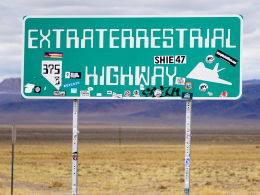 Nevada's Extraterrestrial Highway draws visitors from