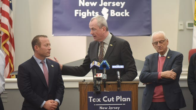 Governor-elect Phil Murphy, Rep. Josh Gottheimer (NJ-5) and Rep. Bill Pascrell announce plan for New Jersey to fight back against the federal tax hike bill.
