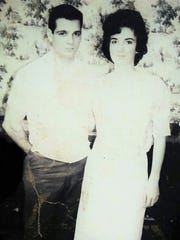 Dale Smith and his wife, Lola Smith, in the 1960s.