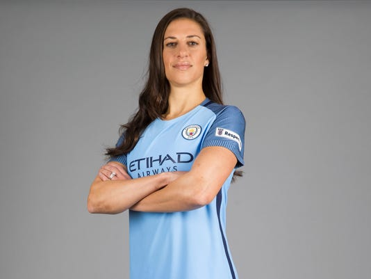 AP Interview  Carli Lloyd excited by Man City adventure a9255cf86