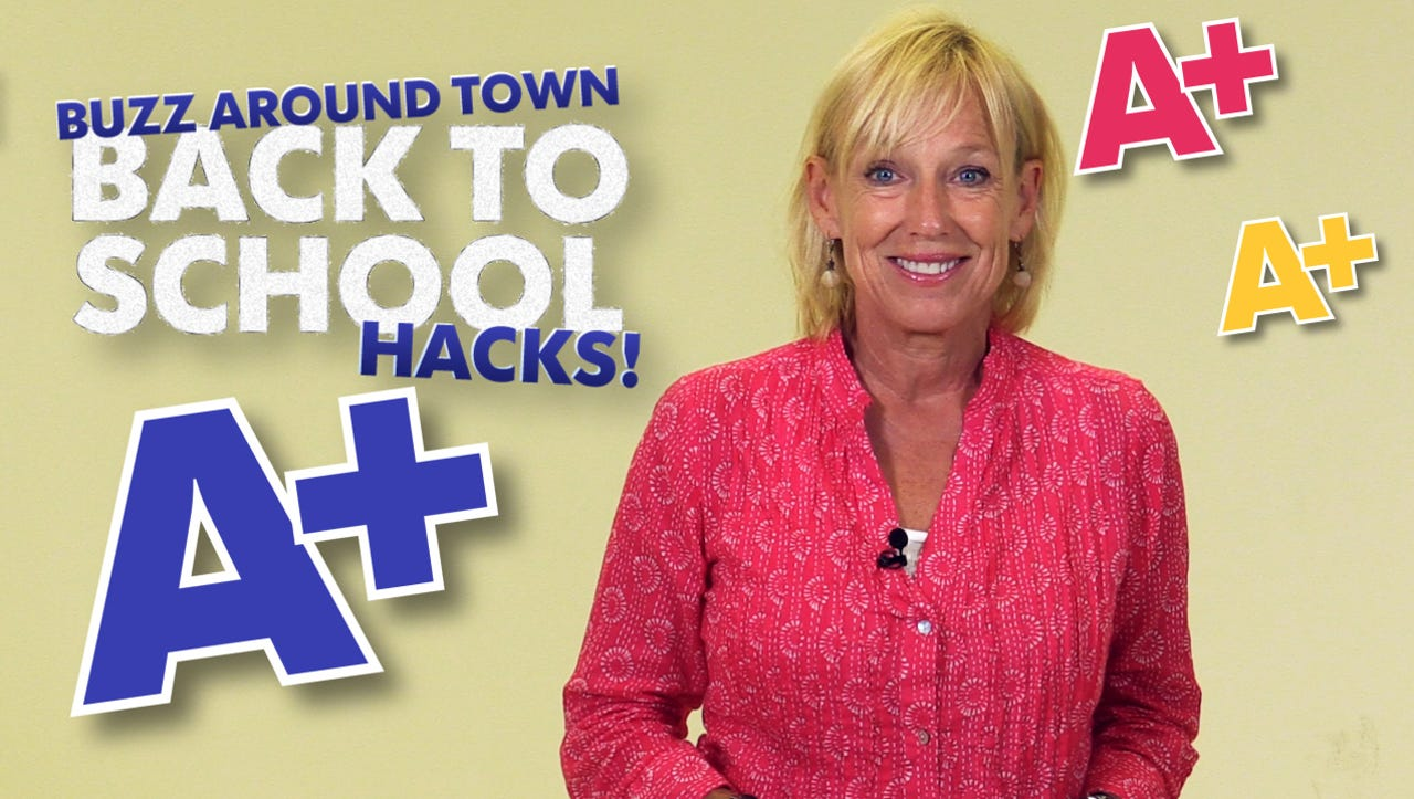 Before you head out for the first day of school, check out these time saving Back to School hacks from Kirby Adams.