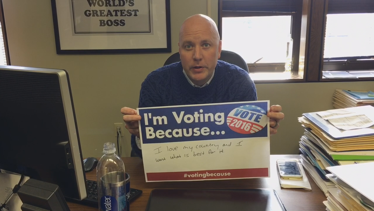 Locals share their reasons for voting during this year's election. Share your reasons using the hashtag #votingbecause.