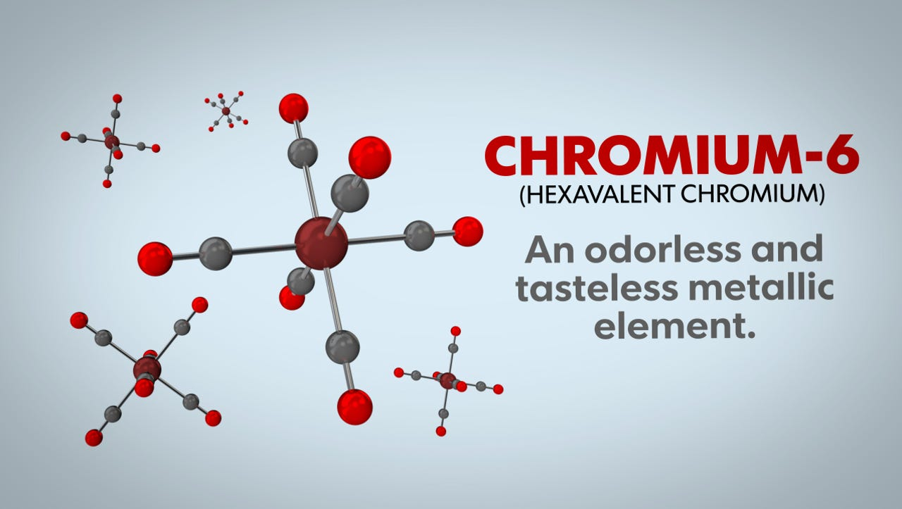 Chromium-6 has been linked to cancer, yet it appears in the drinking water of more than 200 million Americans.