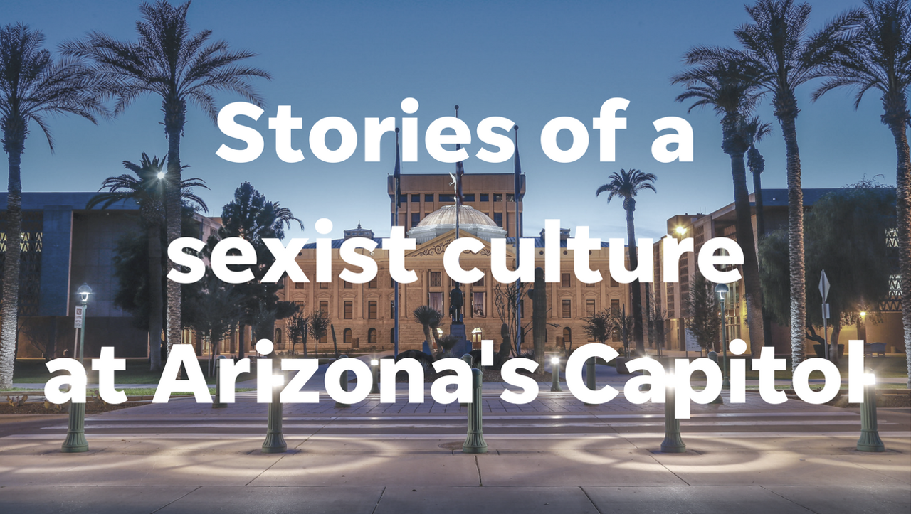 The Arizona Capitol has a problem, as detailed in an Arizona Republic investigation. Reporters reached out to lobbyists, lawmakers and staffers to share their stories. We then read those stories aloud. Isabel Greenblatt/azcentral.com