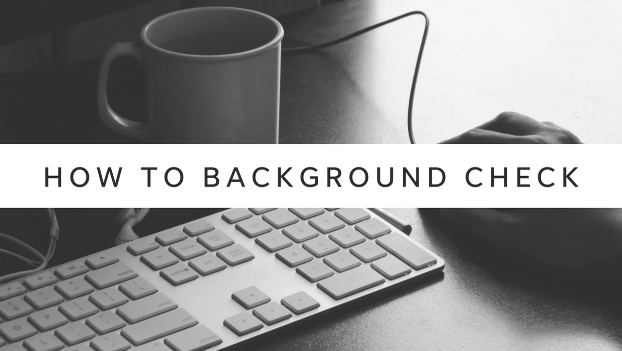 Reporter Megan Cassidy gives tips on how to do a background check for free in Arizona.