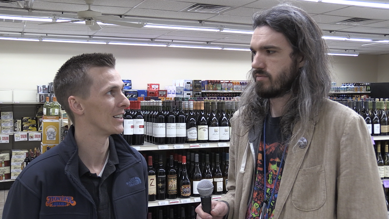 C&P reporter Zach Evans interviewed John McCullough with family-owned Frontier Liquors about Indiana's new Sunday sales law.