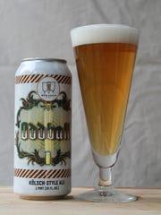 Oddball, Kölsch-style ale, MobCraft Beer