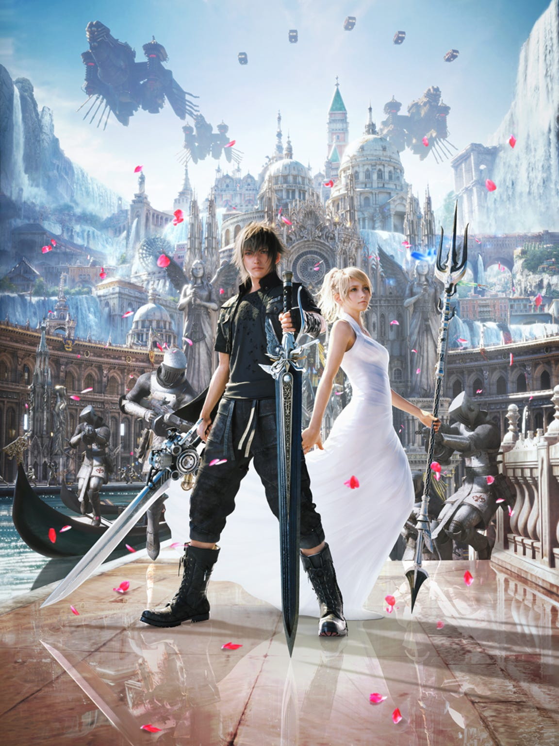 Final Fantasy XV art.