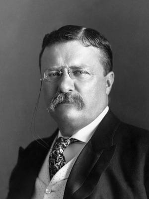 President Teddy Roosevelt came to Richmond at least six times. With the exception of Benjamin Harrison, who stayed here for an extended visit due being a lawyer in the Morrison Will case, Roosevelt is the president who most-visited.
