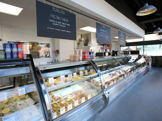 Siegel Brothers in Mount Kisco features a varieties of meats, cheeses and prepared foods.