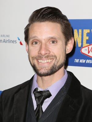 Danny Pintauro attends the Broadway Opening Night Performance of 'Honeymoon in Vegas' in January 2015.