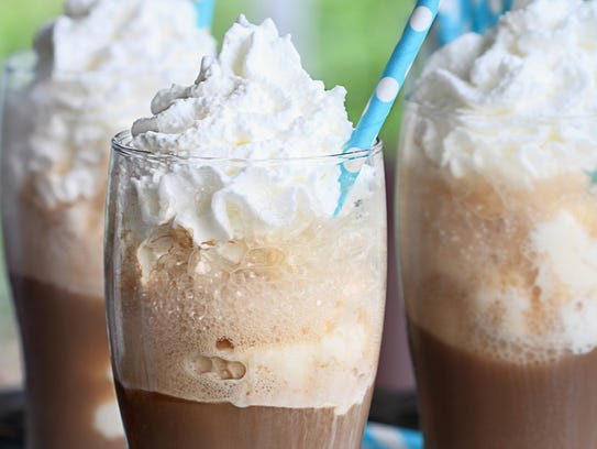 Root beer floats are a fun birthday treat instead of