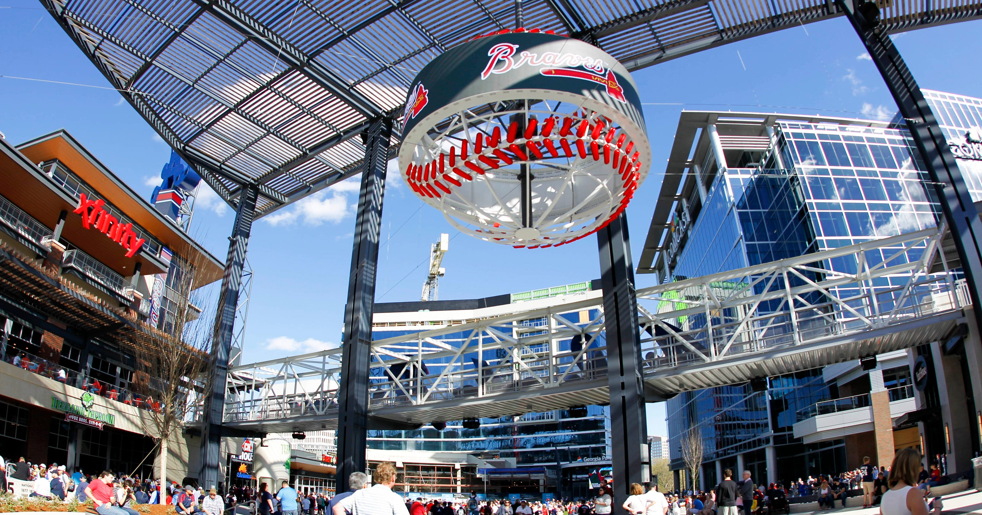 As Braves open SunTrust Park, here are seven numbers to know