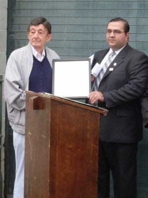 Alfred J. Marchitto, left, former Prospect Park mayor, died on March 13, 2018, according to borough officials.