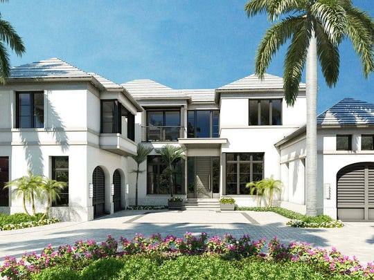 London Bay Homes new model in Port Royal will offer 6,394 square feet of living space.