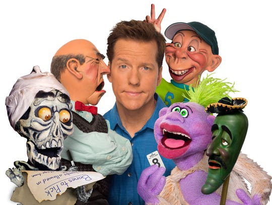 The world's most popular ventriloquist/comedian Jeff