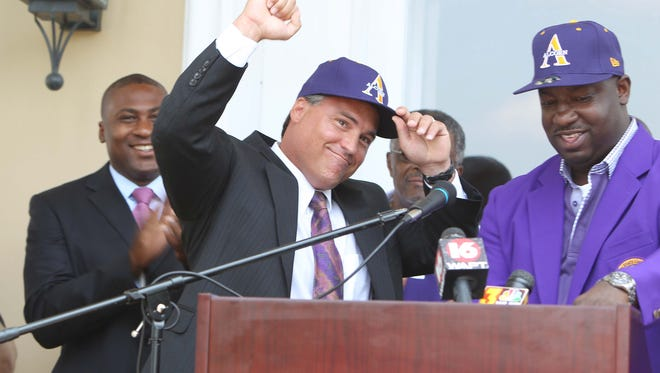 Alcorn State hired Jay Hopson in 2012 and now he's on the verge of leading the Braves to back-to-back SWAC titles.
