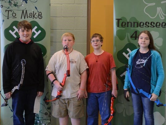 4H archery competition