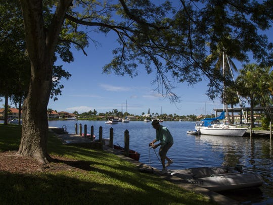 Cape Coral has the most extensive canal system of any
