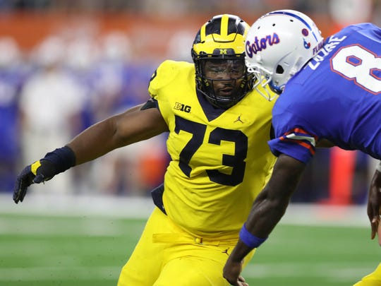 DT Maurice Hurst, Michigan – Hurst's draft stock is
