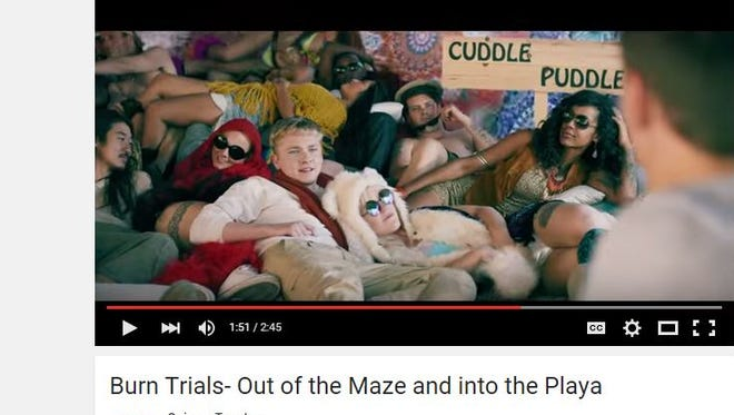 Quiznos, a sub sandwich chain based in Denver, Colo.,  made a parody commercial based at Burning Man.