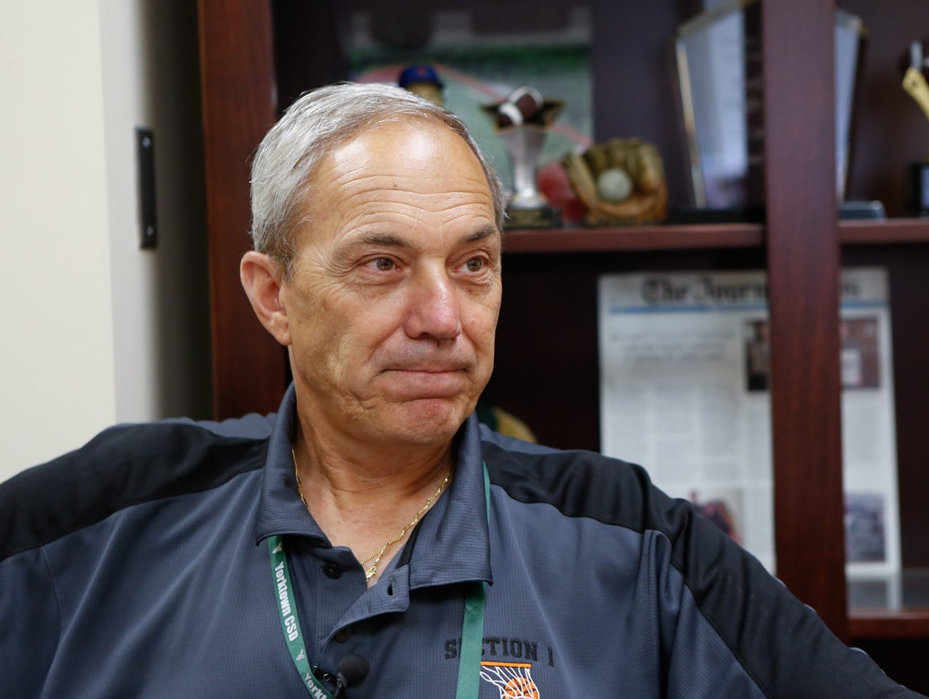 Yorktown High School Athletic Director Fio Nardone
