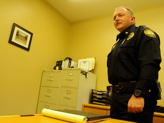 """After 25 years on the job, police chief Steve Padgett calls retirement """"bittersweet."""""""
