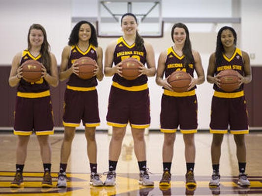 ASU women's basketball freshmen