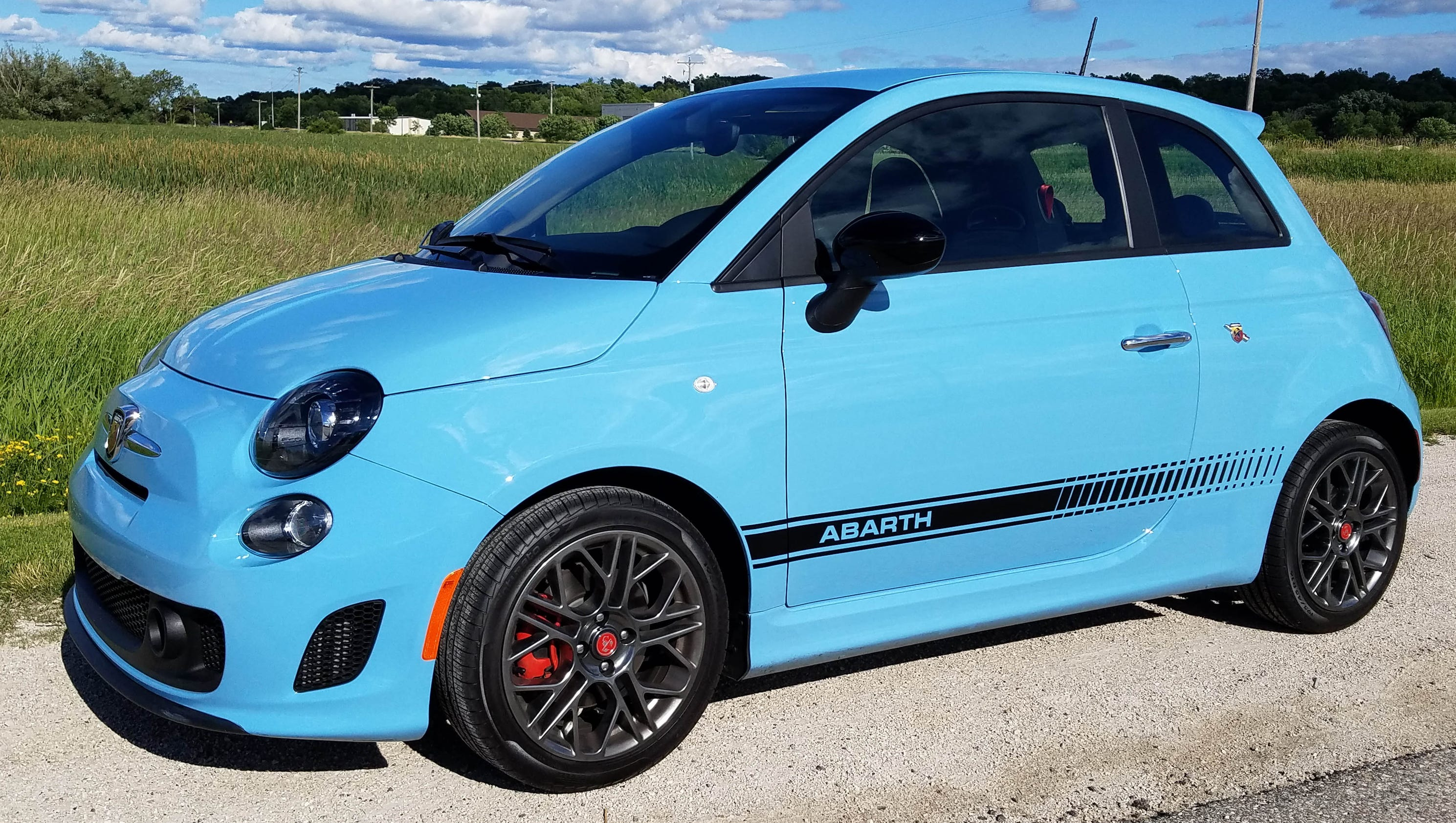 savage: at $21,000, fiat 500 abarth is a tiny, bargain-priced joy