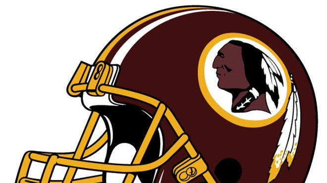 Washington travels to Dallas where it will play the Redskins on Sunday and be greeted by another ad from the Oneida Indian Nation.