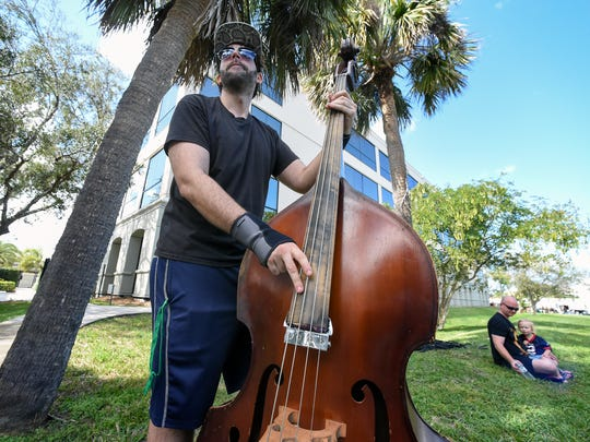 Arts lovers flocked to Memorial Park Saturday, Feb. 10, 2018, for the 2018 ArtsFest in downtown Stuart. The event features fine art, a literary village, a local green market, a culinary competition and activities for kids, and more. The festival continues from 10 a.m. to 5 p.m. Sunday.
