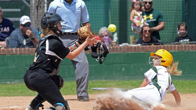 Calvary's Shelby Brown is one of the top hitters in the area.