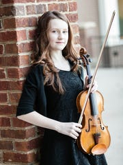 Local violinist Abby Reed, 11, will perform in an upcoming
