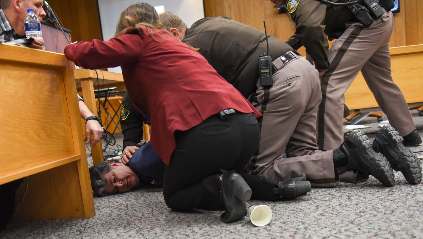 Emotional, financial support pours in for father who rushed Larry Nassar