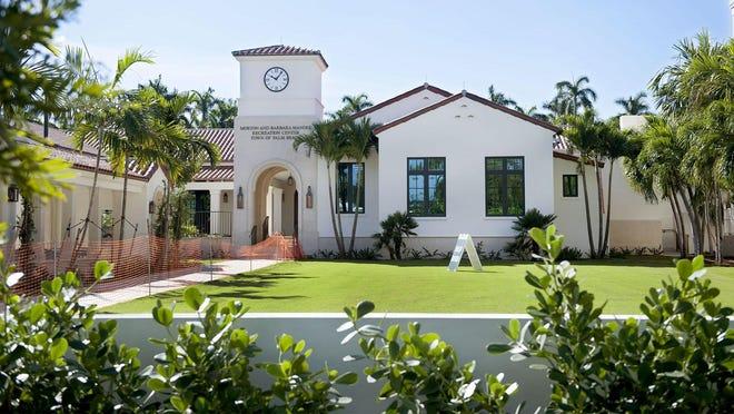 The Morton and Barbara Mandel Recreation Center in December 2019 in Palm Beach.