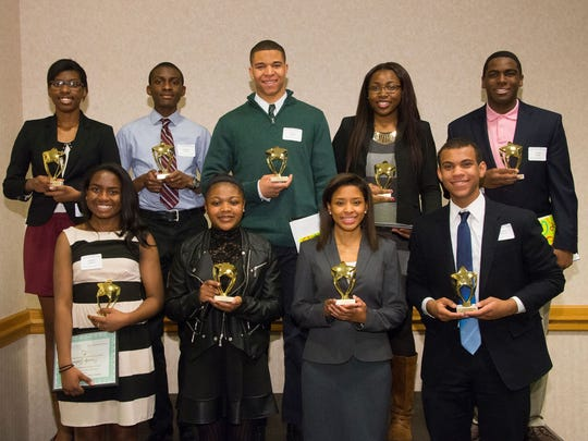 The high school winners of RVCC's 2015 Paul Robeson